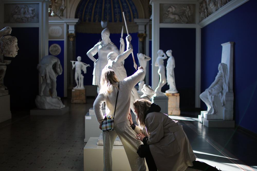 reenactskulptur
