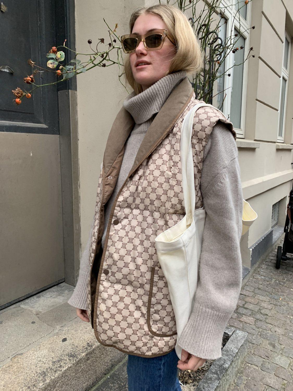Vintage Céline og rullekrave - Fredes Blog