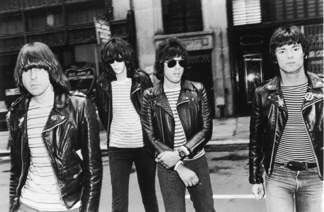 A 1981 portrait of The Ramones