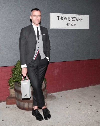 "DEWAR'S ""Browne Bag"" Launch hosted by Thom Browne and Euan Rellie"