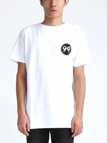Soulland-Ribbon-Emblem-T-shirt-White-1