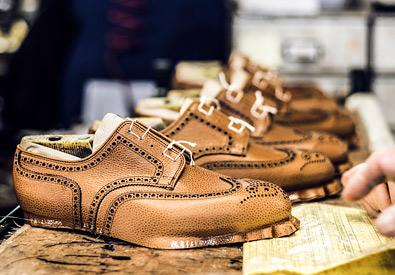 Handlavede-sko