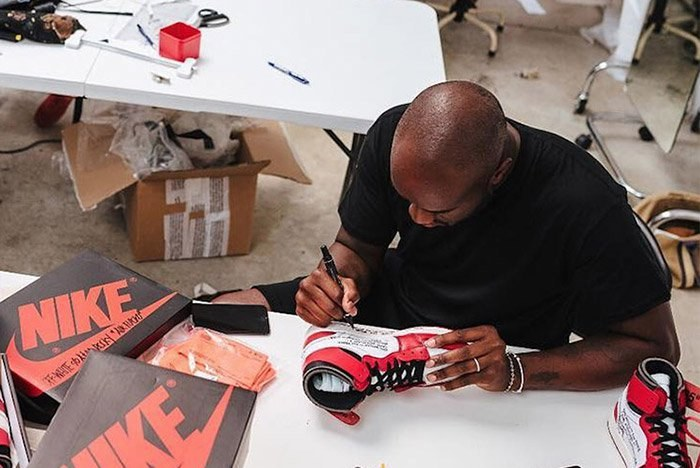 Virgil Abloh igang med The Ten for Nike