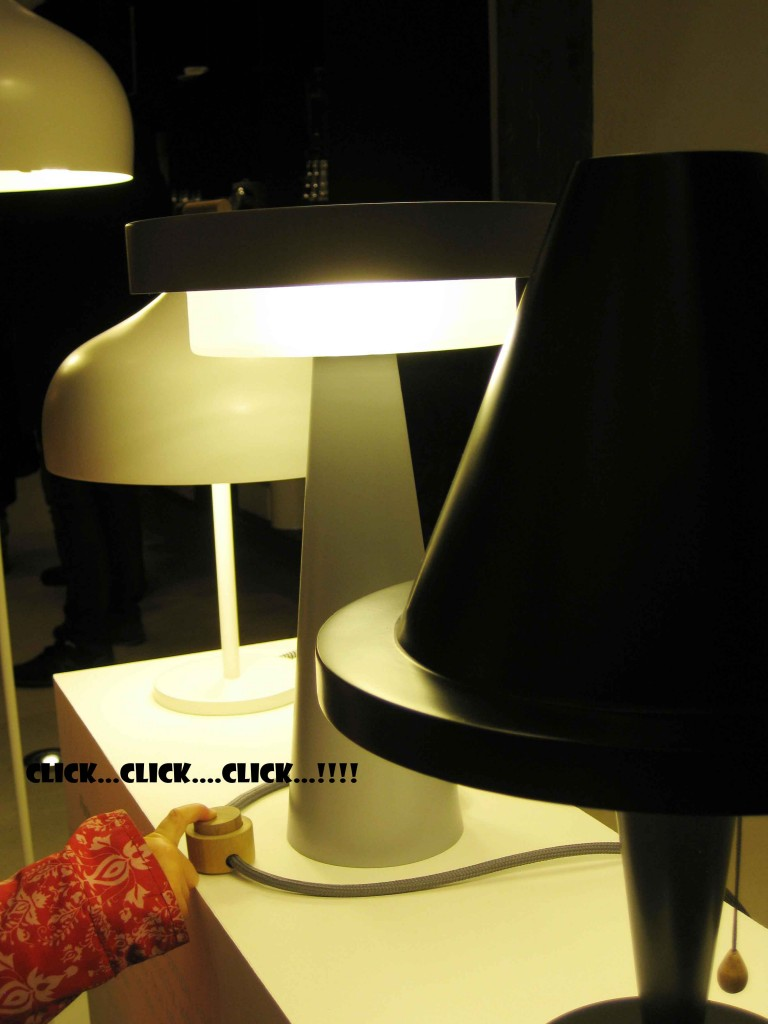Milia's lamps, time to design