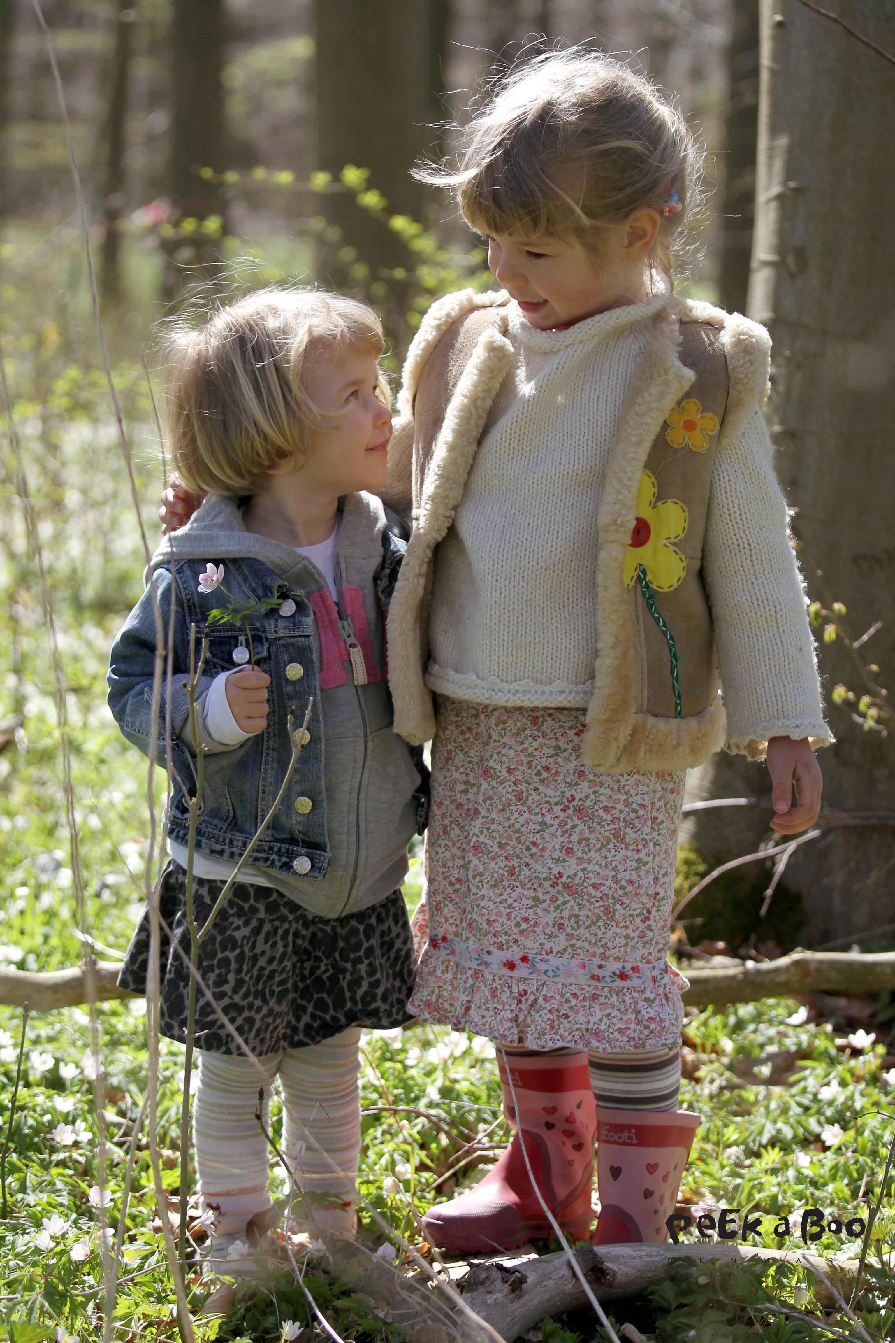 Pluk anemoner med ungerne...