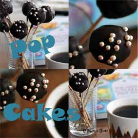 Pop cakes fra Peekaboo design.