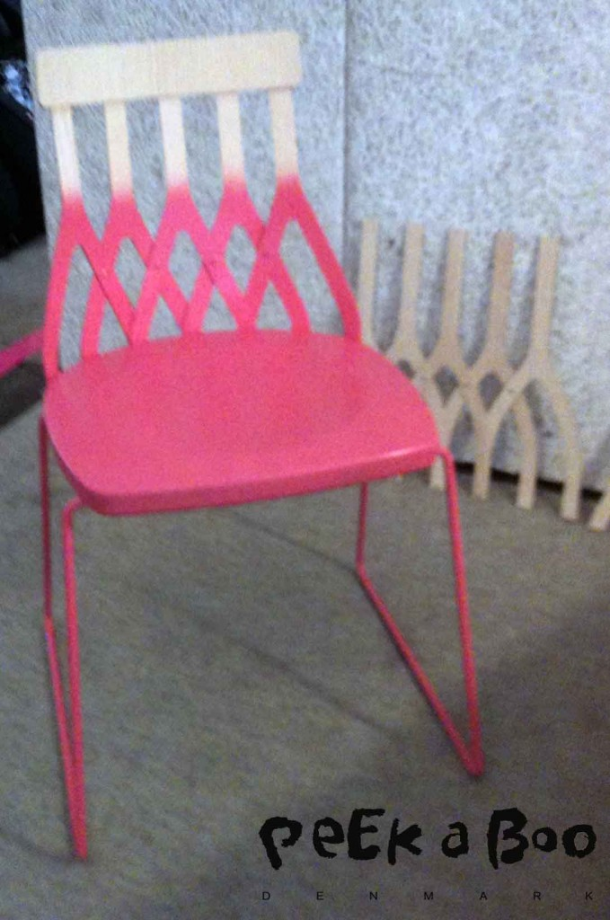 dipdyed stol fra SK studio