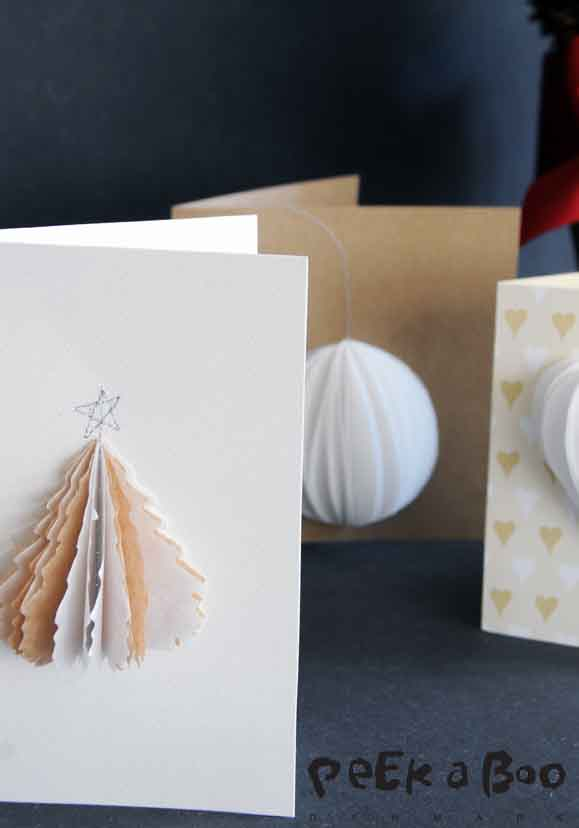 3 D christmas cards by Peekaboo design