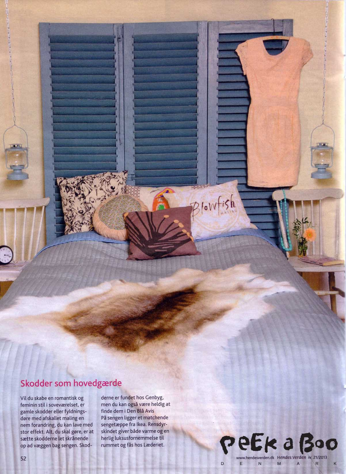 Hendes Verden nr. 21 styling and DIY ideas by Peekaboo design