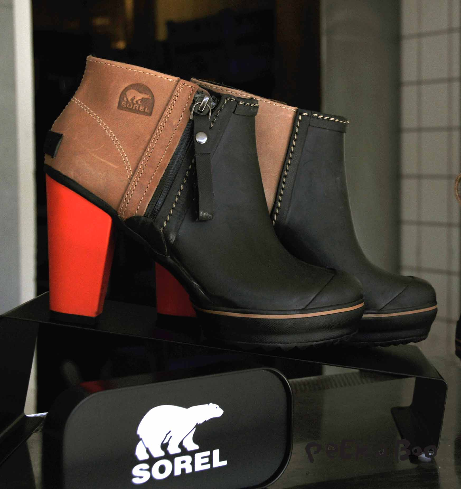 Sorel AW13 for rainy days.