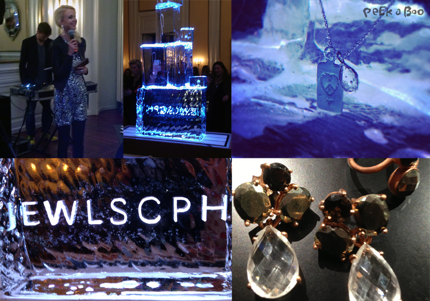 Jewlscph presented the necklace United for friends and press at a fantastic event at the Odd Fellow Palæ in Copenhagen.