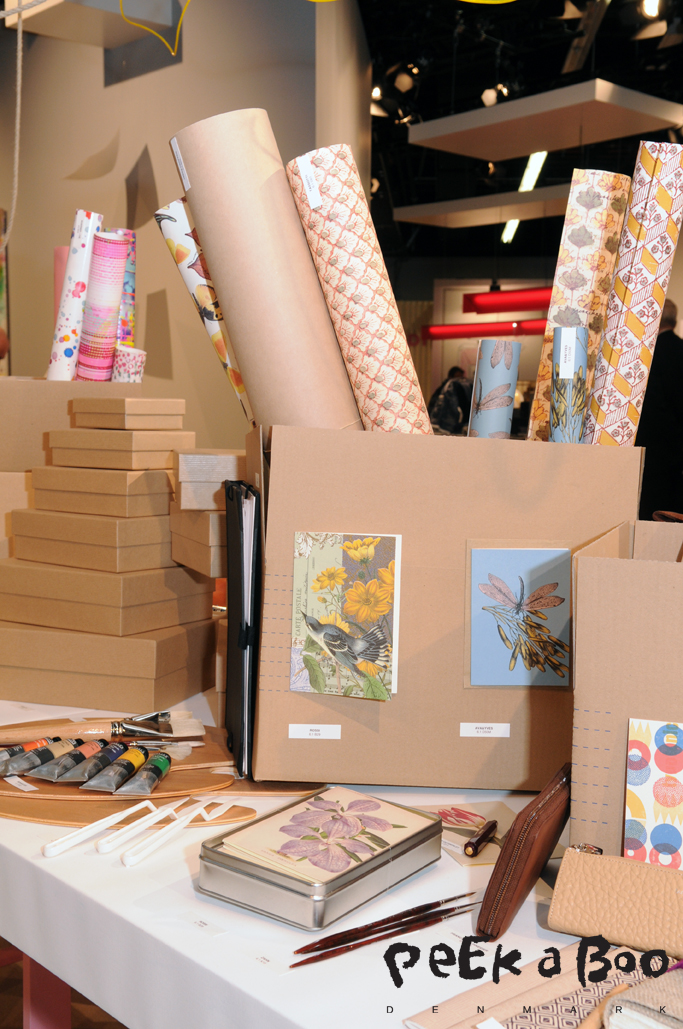 Paperworld showed naturel inspiration on eco friendly paper.