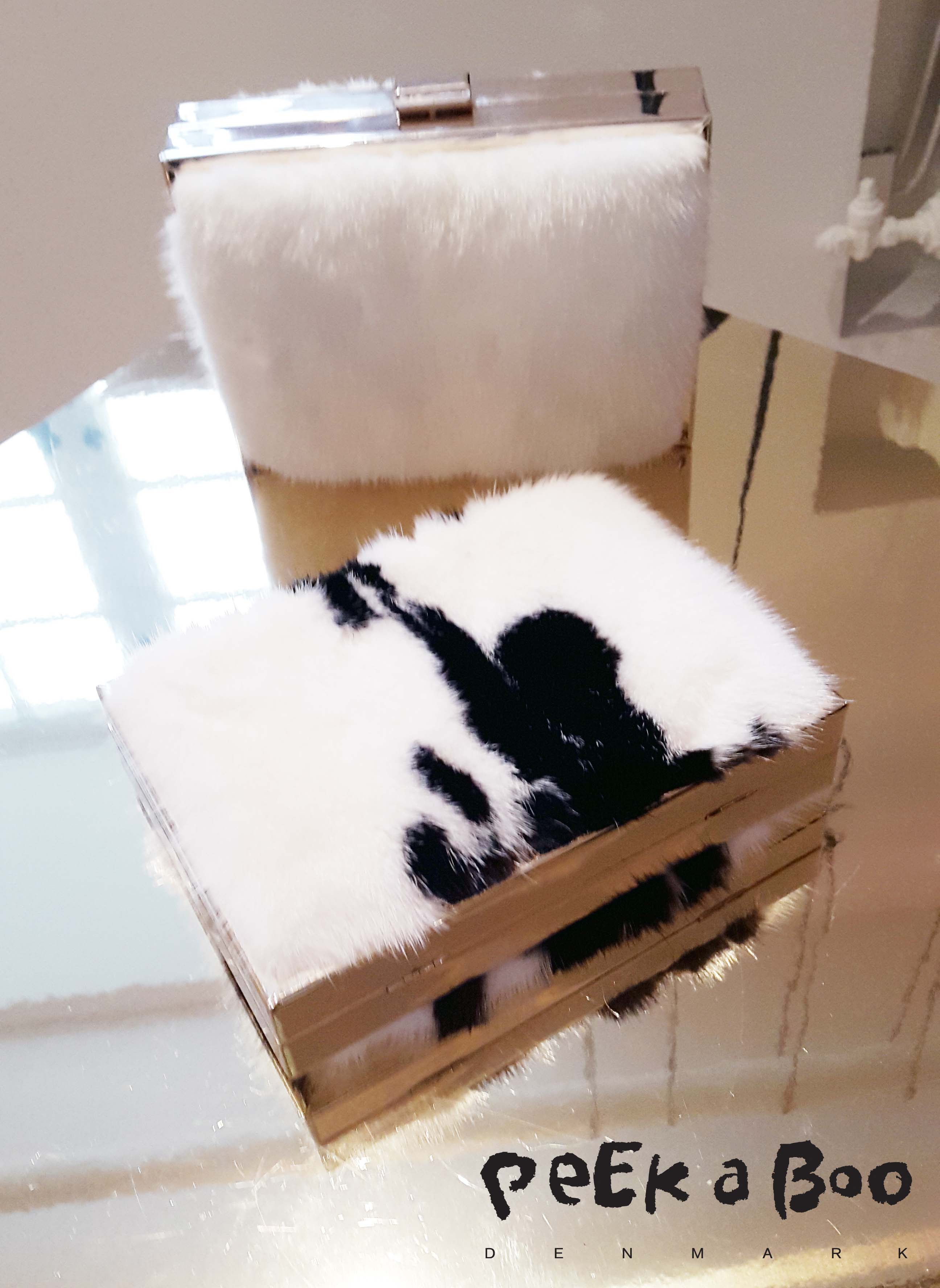 Bel Sac rabbit fur purse.  Design by Camilla Dalager for the AW15 collection.