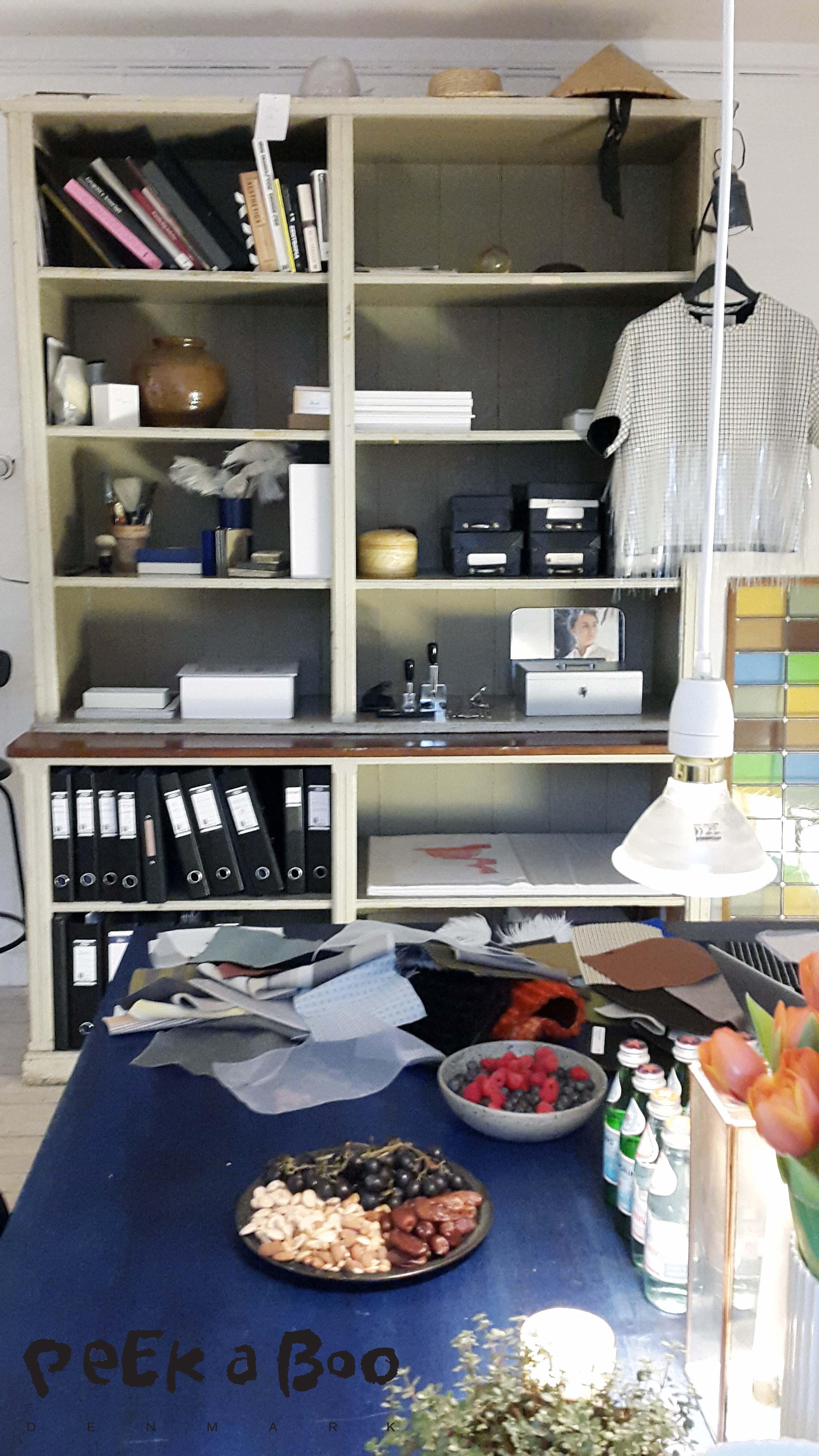 The inspiring atelier where Mark Kenley Domino Tan creates his new designs.