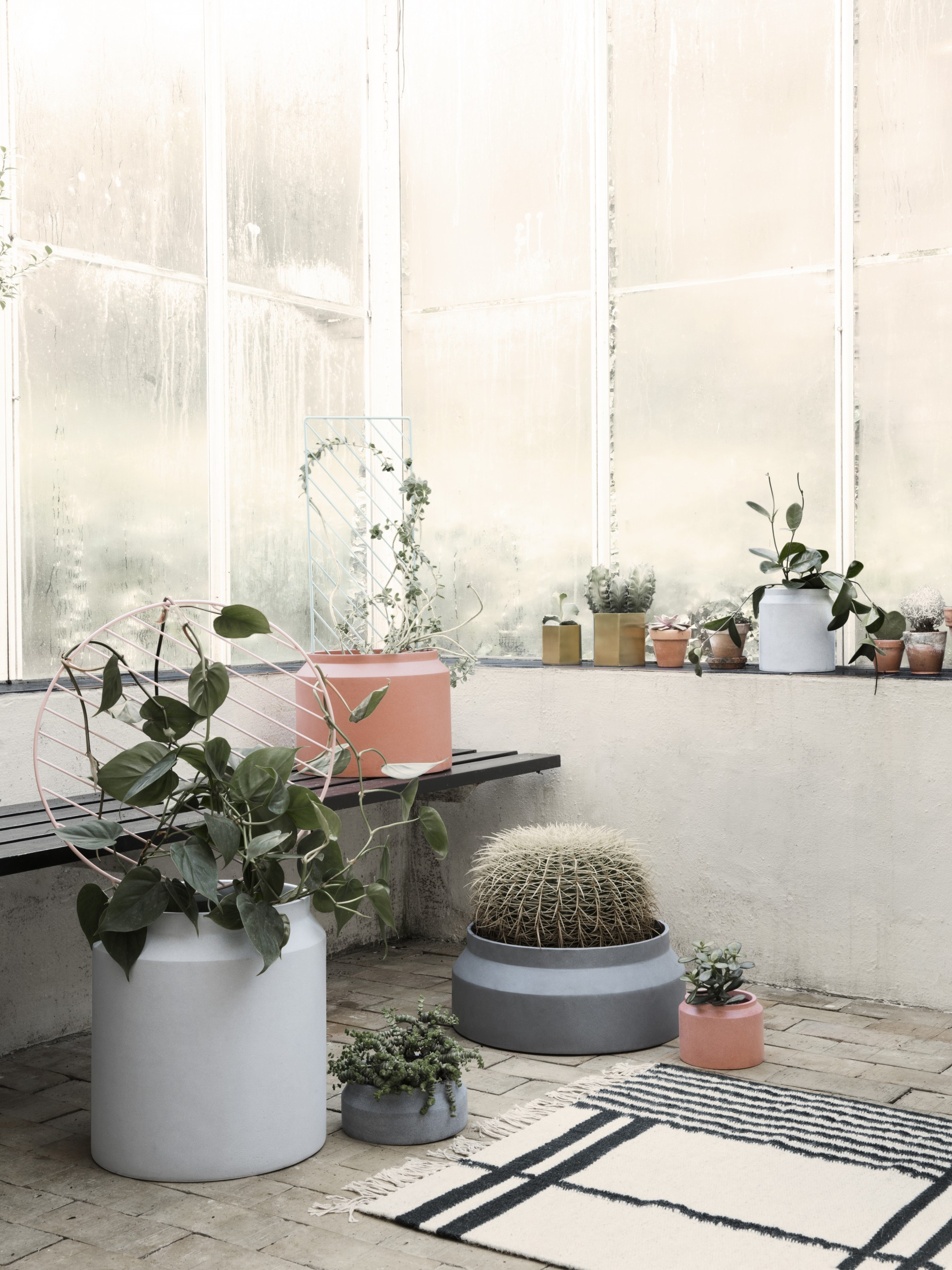Ferm Living SS15 catalouge new pots and lots of green living from them this season.