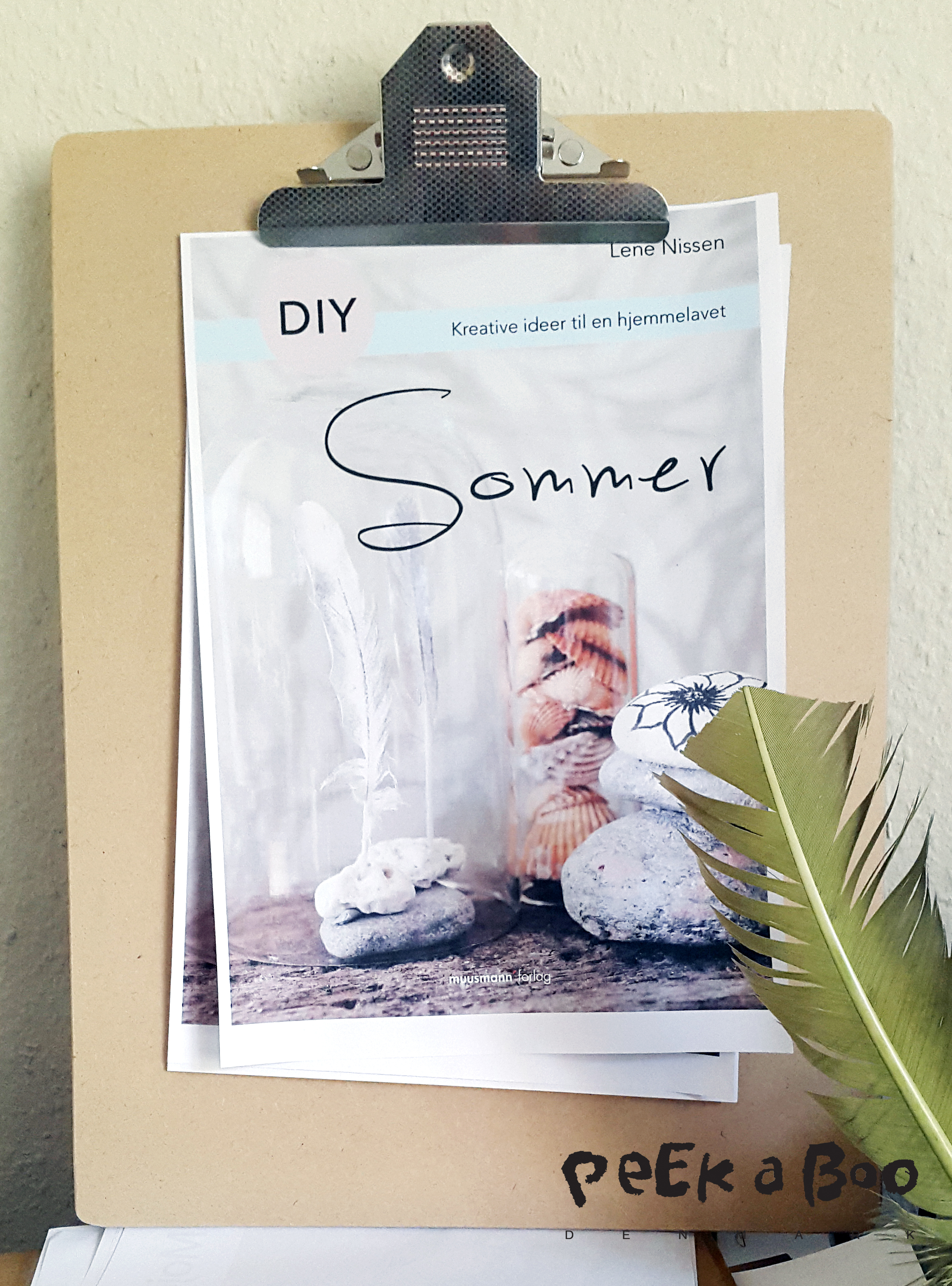 Front cover for my new book on summer DIY's. It will be released 19 of June and can be bought on saxo.com