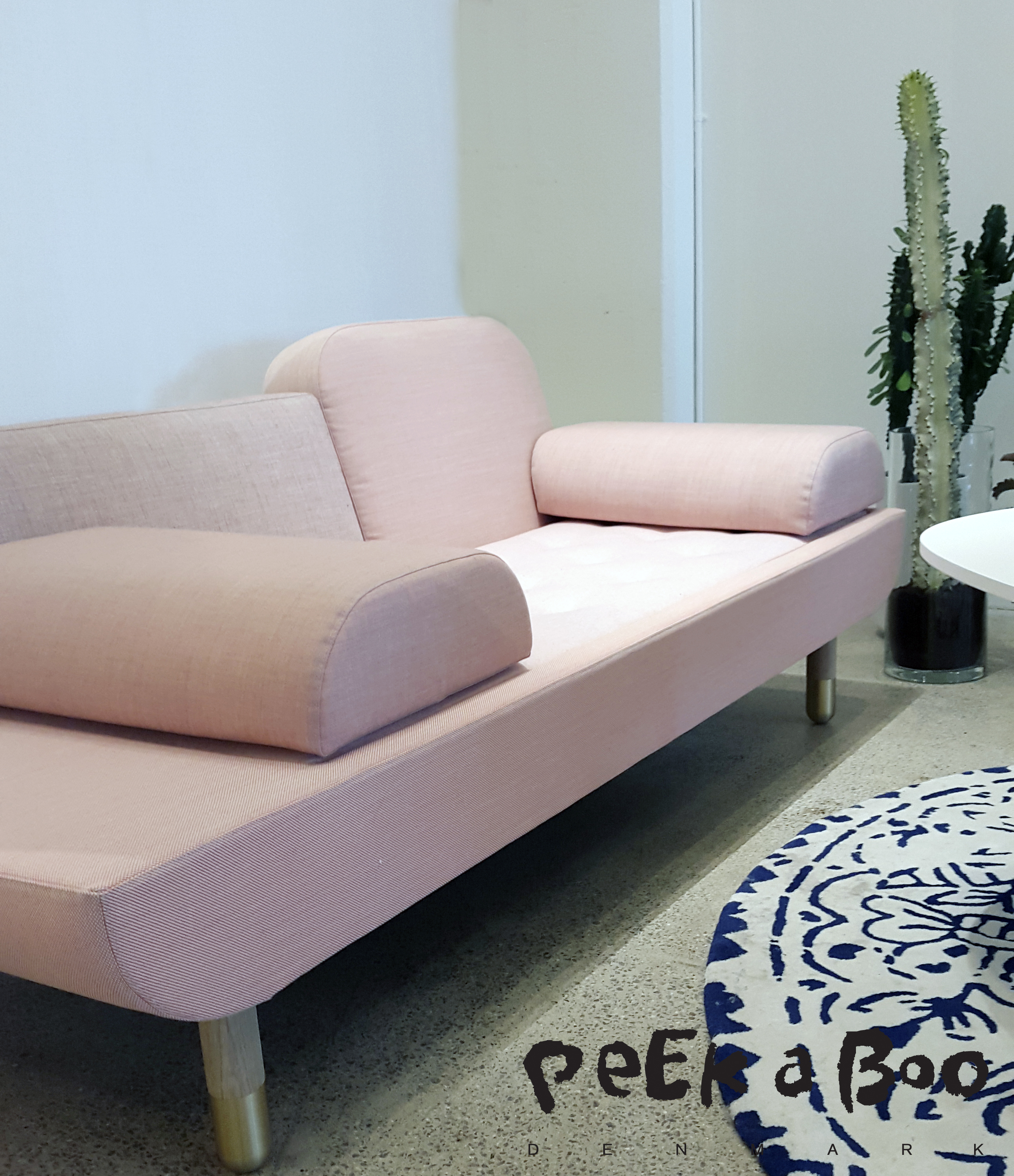 The sofa TOWARD designed by Anne Boysen and manufactured by Erik Jørgensen.