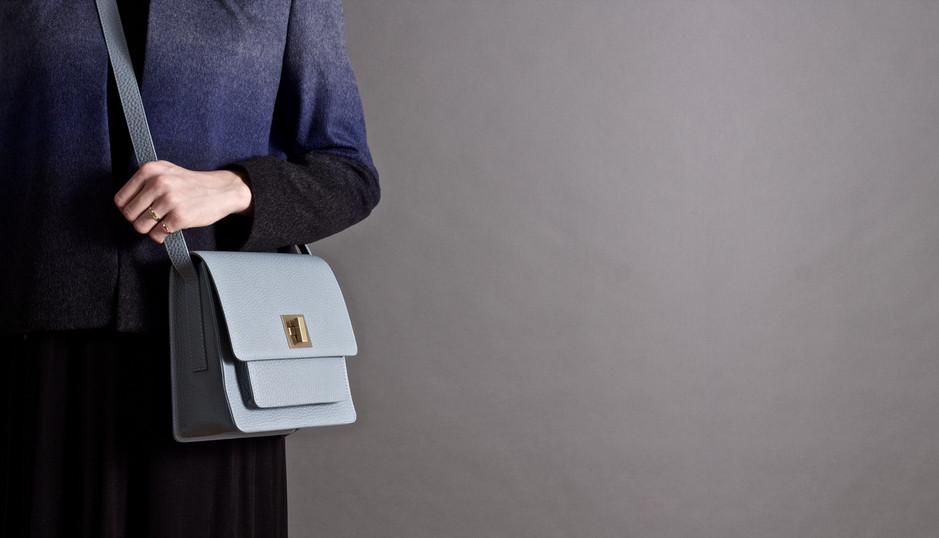 Lovely lightblue bag for this season...delicate materials and beautiful craftmanship, from  the Danish brand Rodtnes.