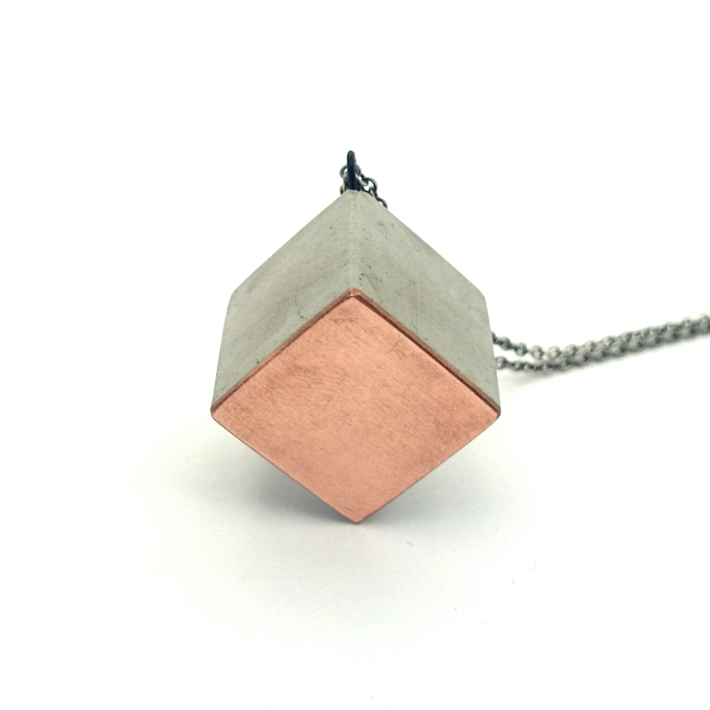 The new Danish jewelery brand Thorning/Astrup, make jewelery in materials looking like concrete. A new way of looking at jewelery.