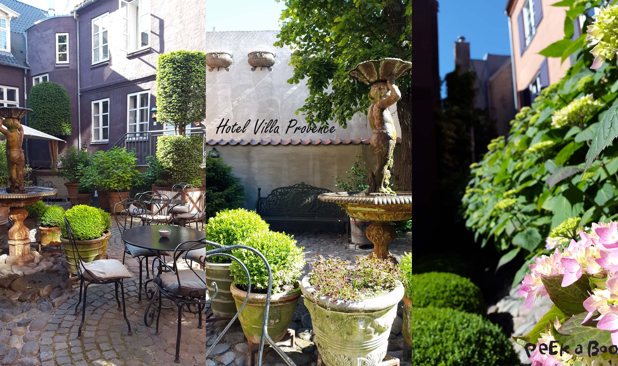Hotel Villa Provence gårdhaven
