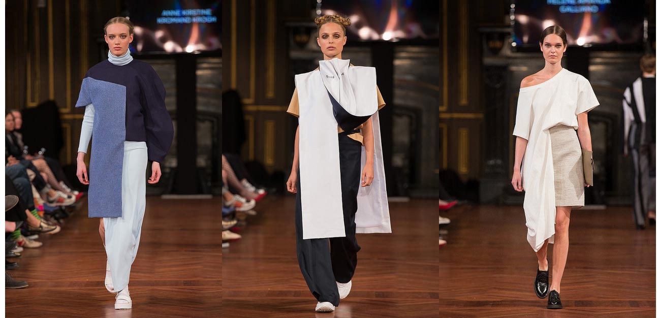 Designs from some of the graduates from the School of Design in Copenhagen and the Design School Kolding 2015.