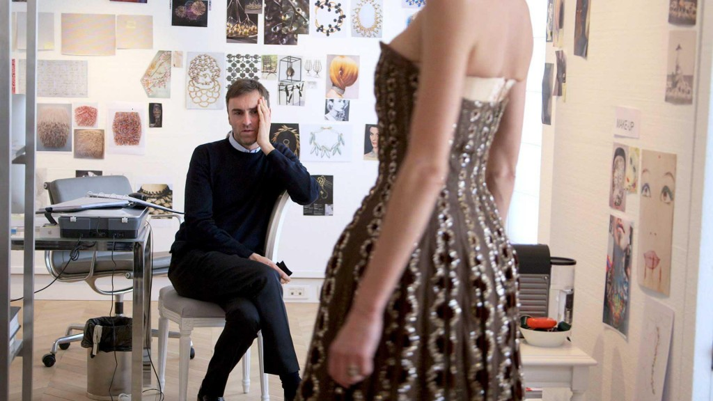 "From the movie ""Dior and I"" where you follow Raf Simons, Head of Design in his universe."
