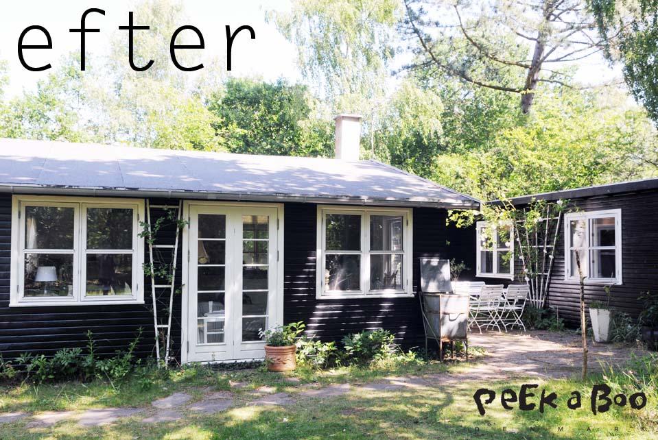 Sommerhuset 2 dage senere...nu i Classic Black.