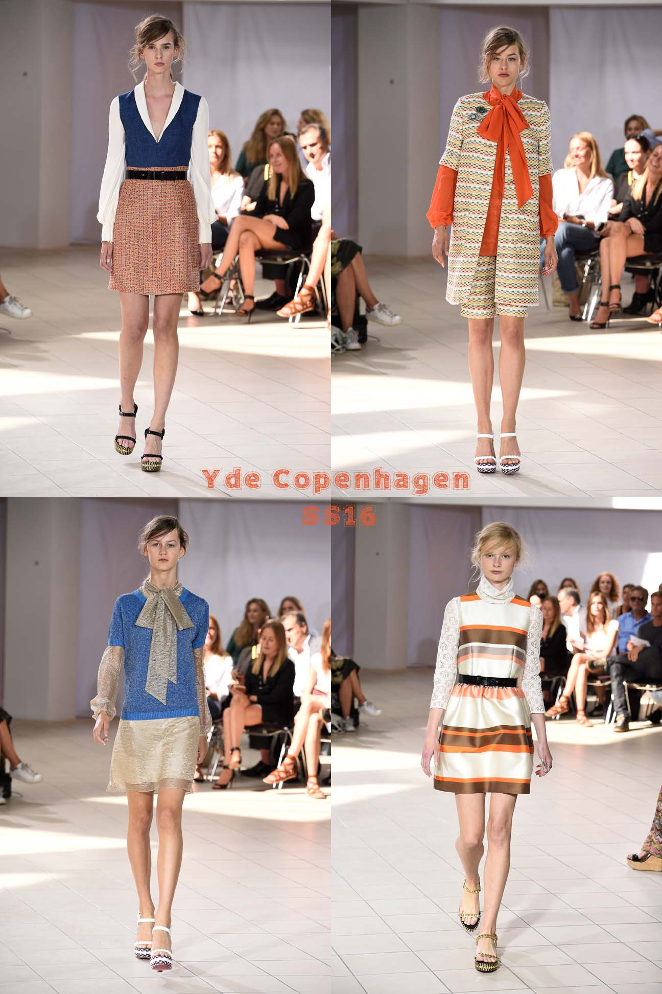 The Danish designer Ole Yde showed his SS16 Collection at the interior shop Paustion during the Copenhagen fashion Week.