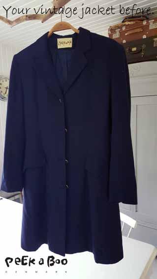 My vintage blazer found on a flea market this summer.