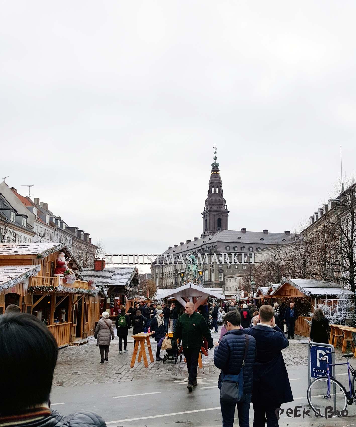 christmas market in Copenhagen.