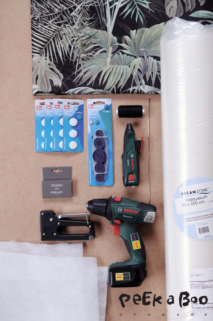 Some of the materials you need for this project.