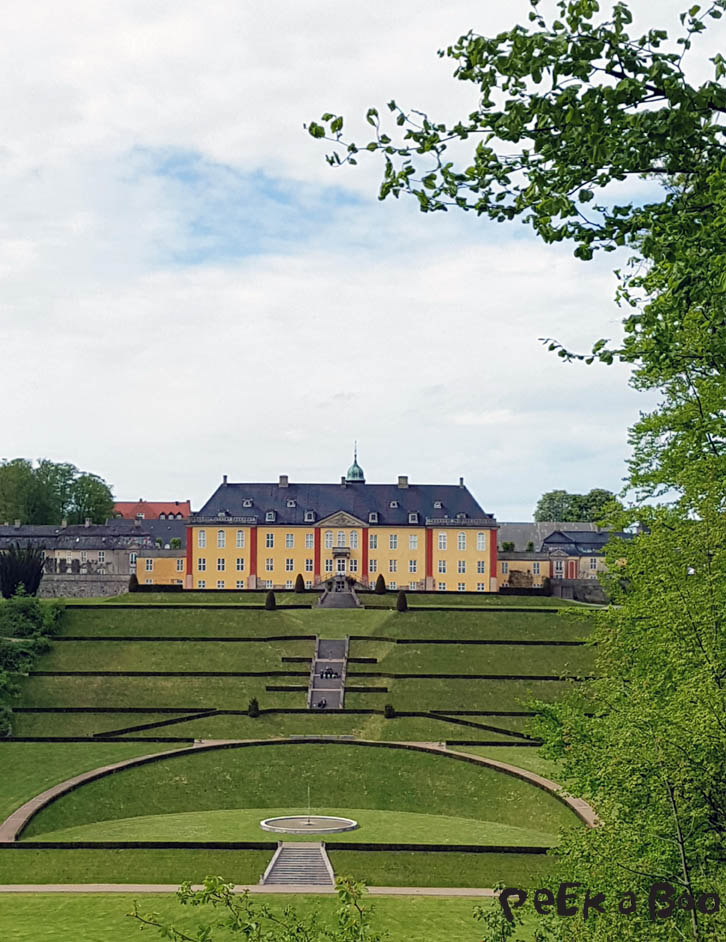 Ledreborg Castle seen from the park where you fly...