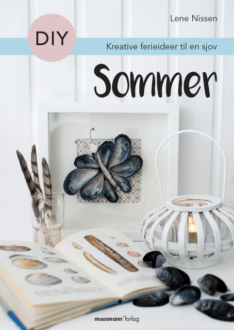 My summer DIY book is filled with ideas with seashells and much more.