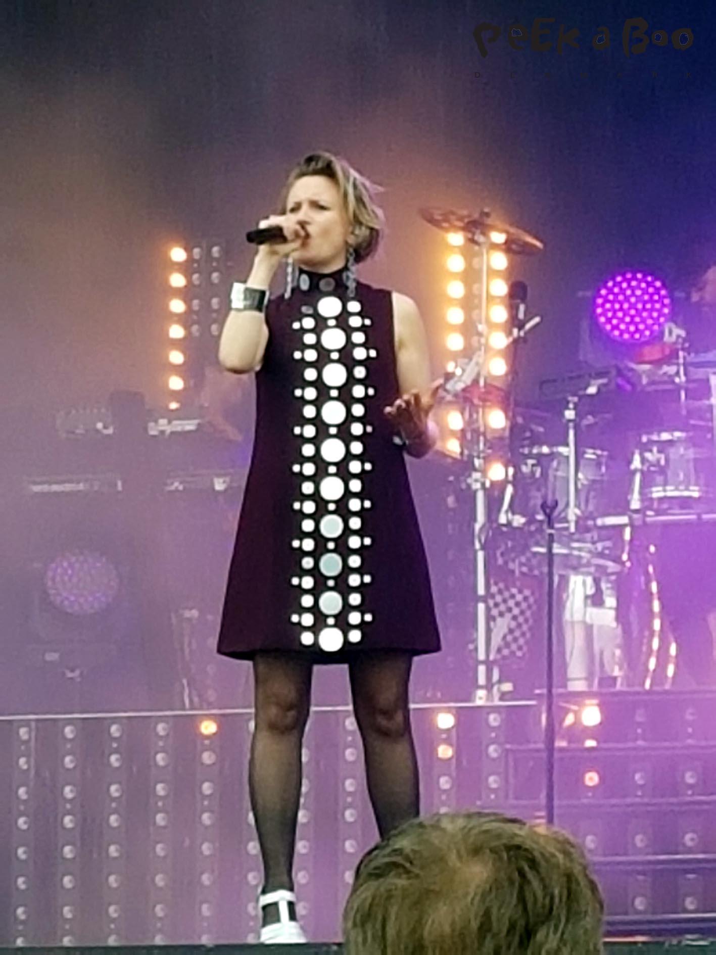 Stine Bramsen at Vig Festival 2016.