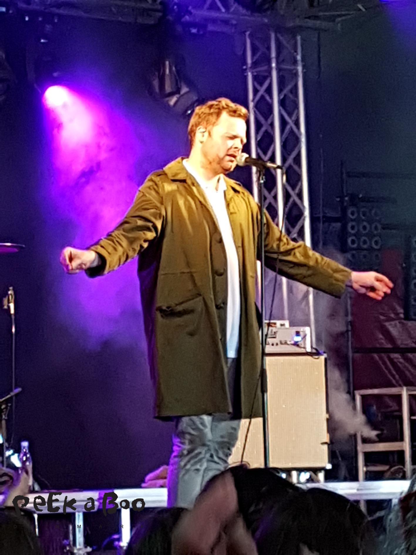 Patrick Dorgan played at scene 21 at Vig Festival 2016.