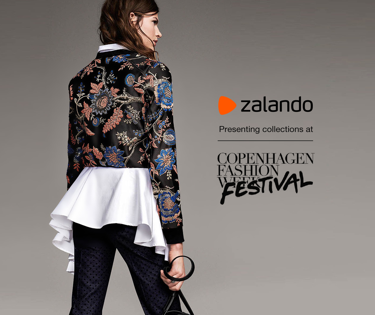Zalando shows the future trends on a fashionshow the 11th of August 2016 in Copenhagen City hall.