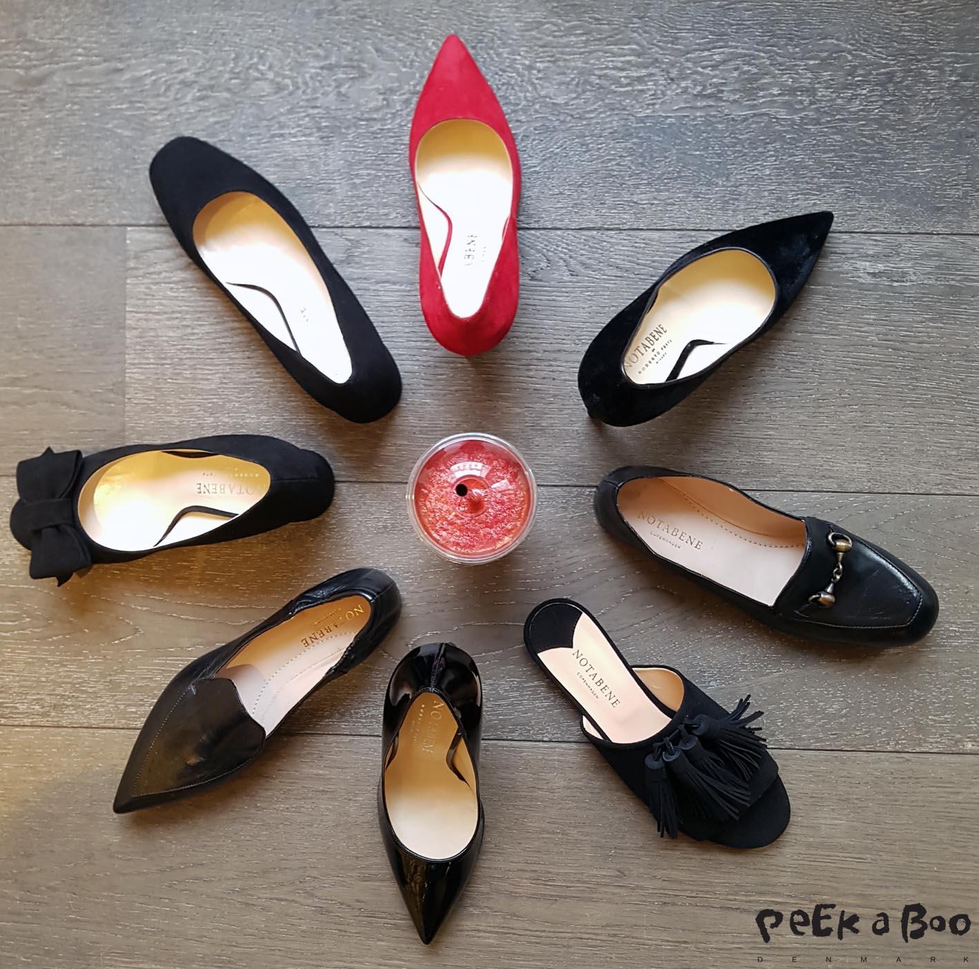 Min version af en #knækcancerblomst lavet med Notabene's sko fra SS17 kollektionen.
