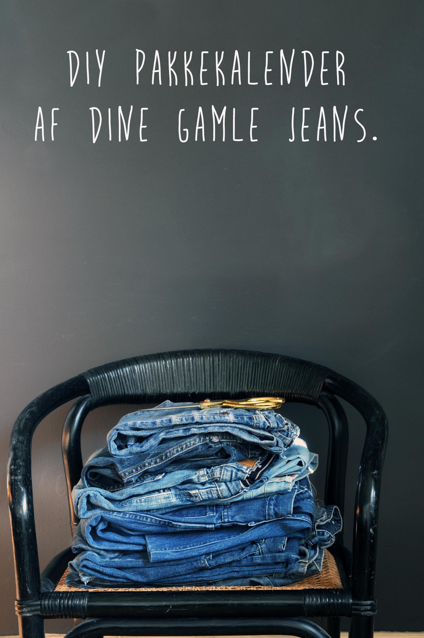 Det er tid til at tænke pakke kalendre, hvis du vil sy den selv...Bliv inspireret til jeans elskeren.