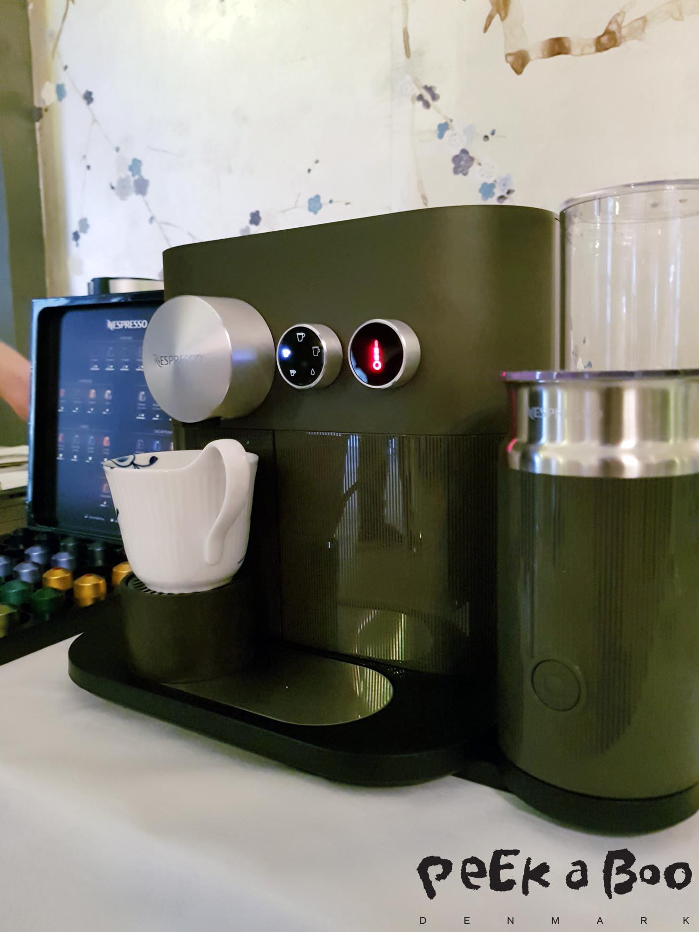 Nespresso's new coffee machine Expert.
