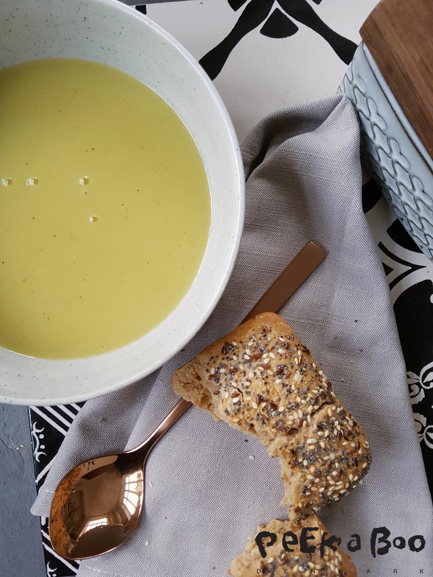 Easy peacy leek/potato soup recipe