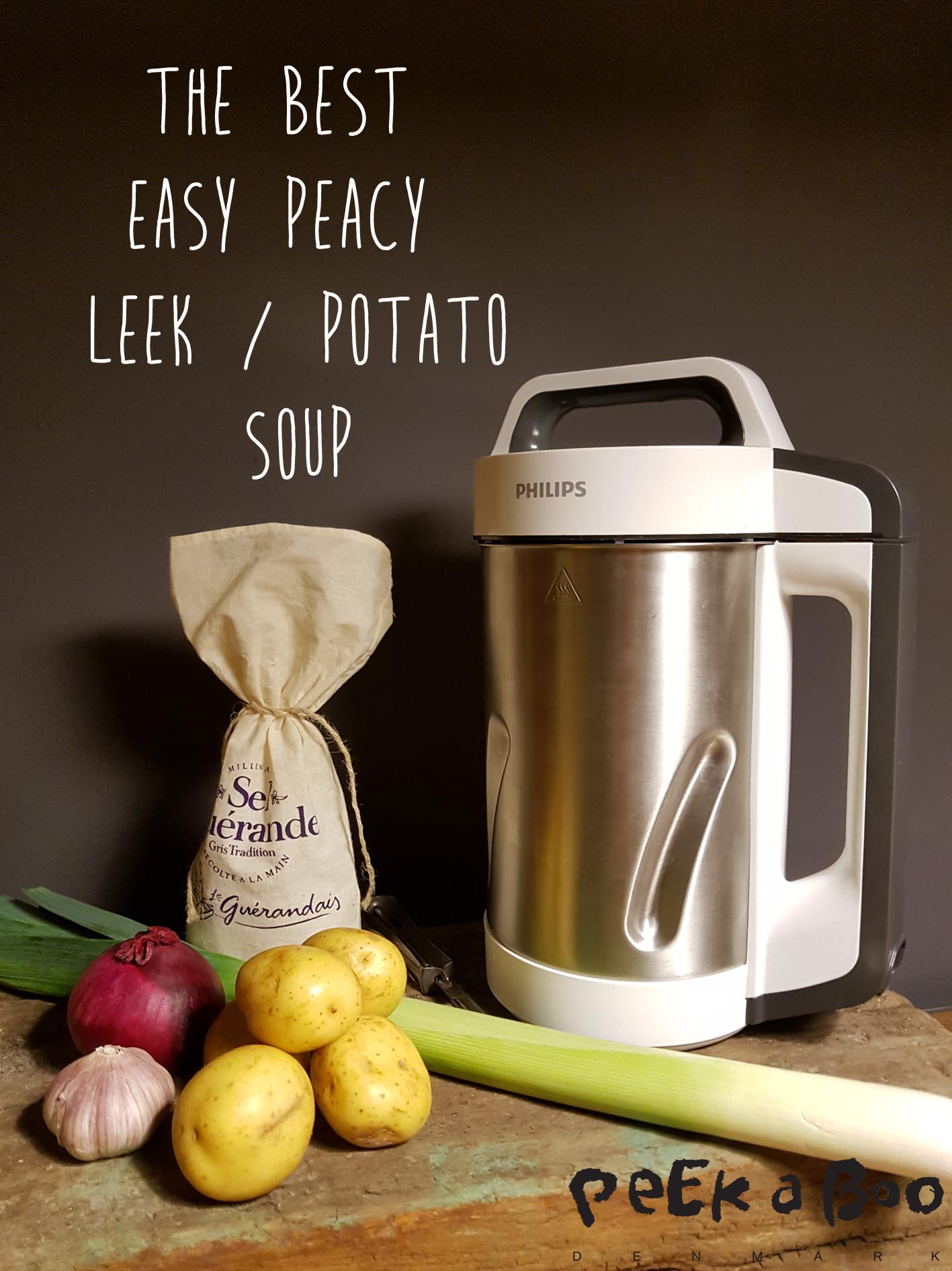 Philips soupmaker is the easiest way to make a healthy lunch.