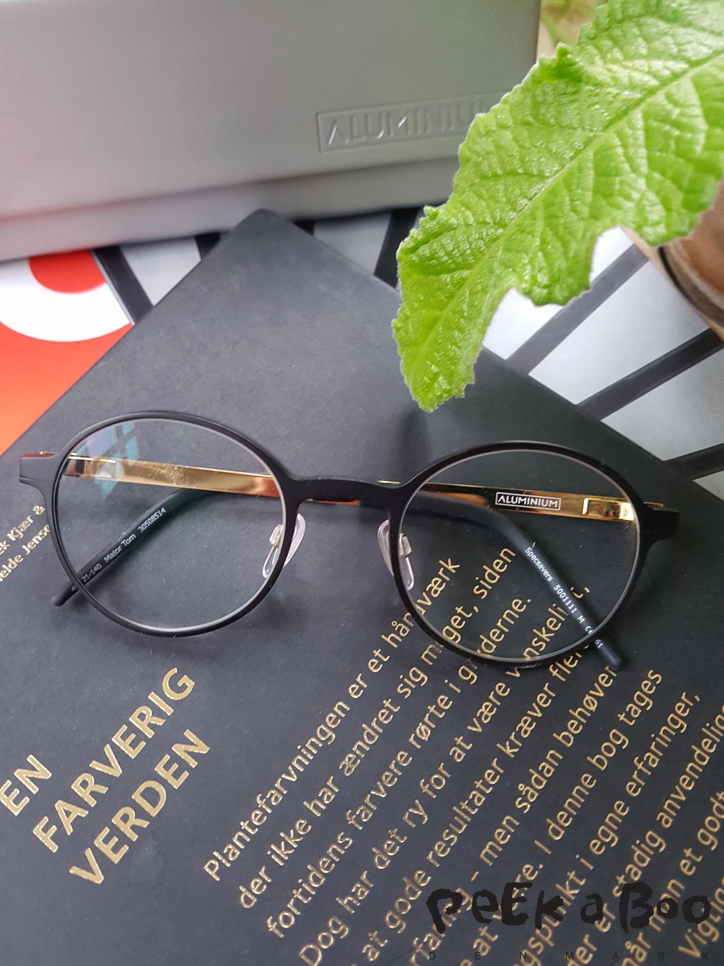 New glasses in aluminium from Louis Nielsen.