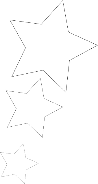 Template for the stars.