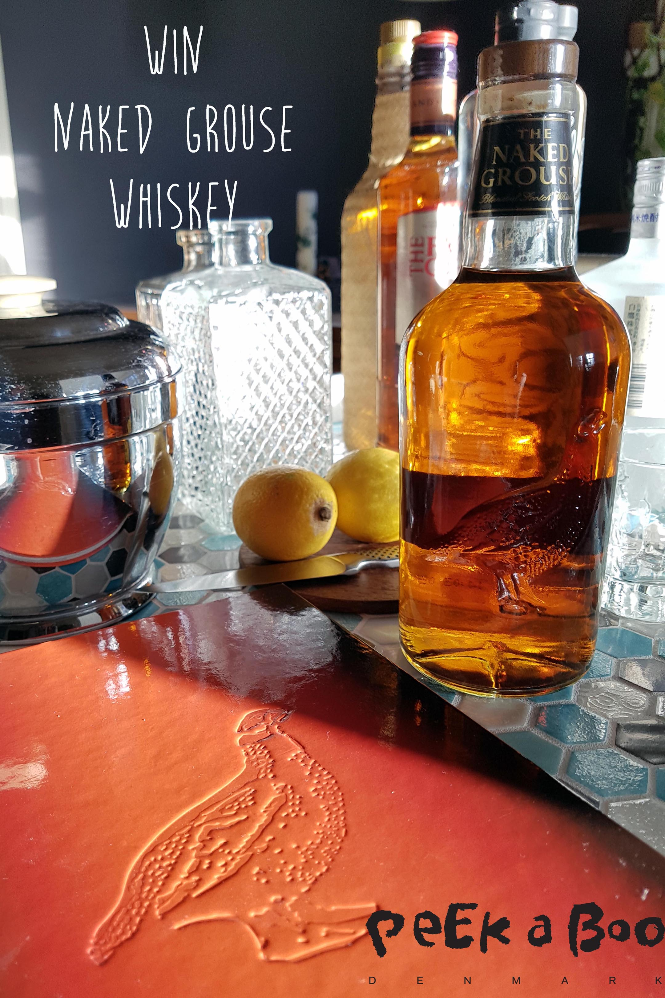 Win The Naked Grouse whiskey og drinksbogen fra The Naked Grouse.