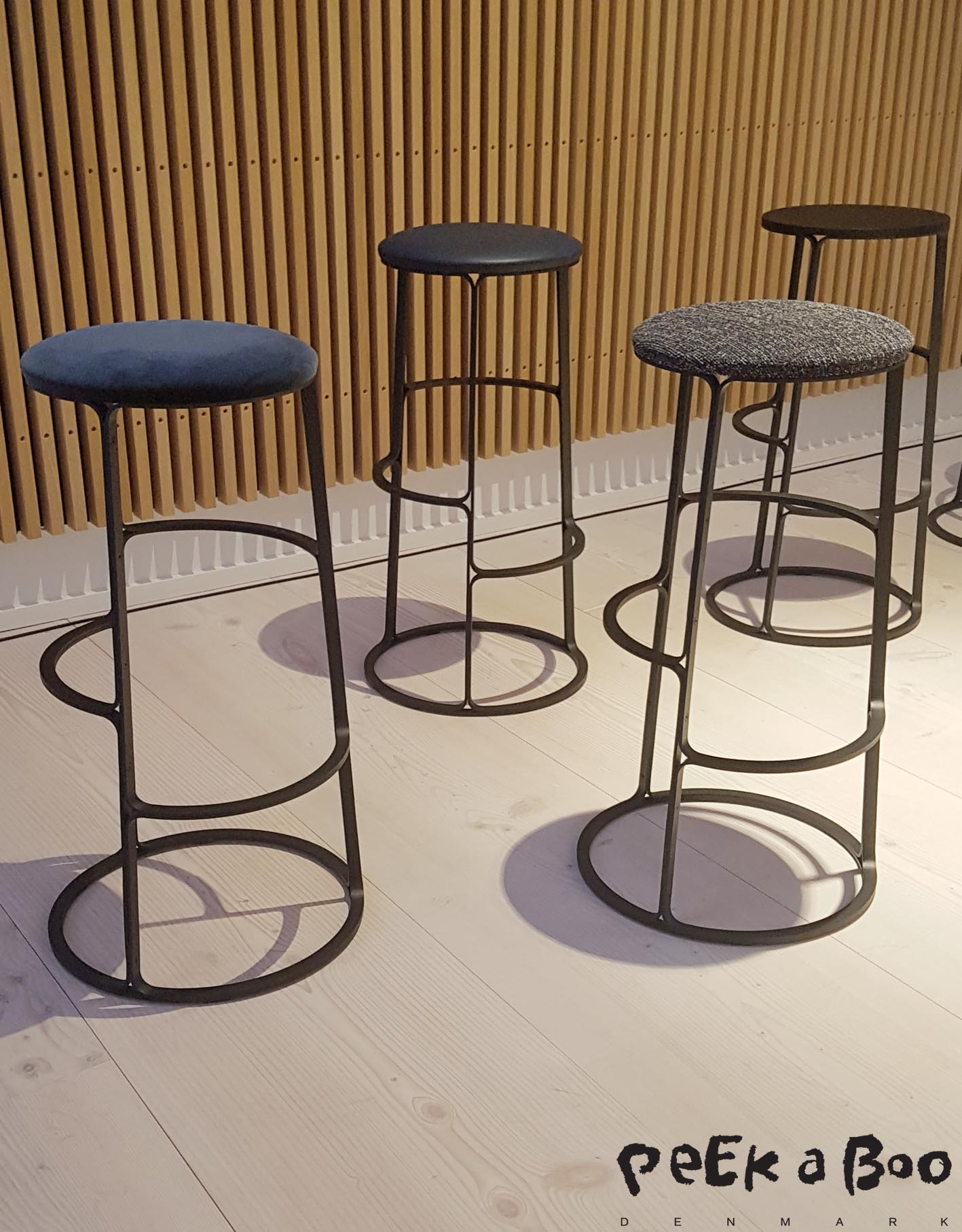 New barstool designed by Aurélien Barbry and to be launched later this year.
