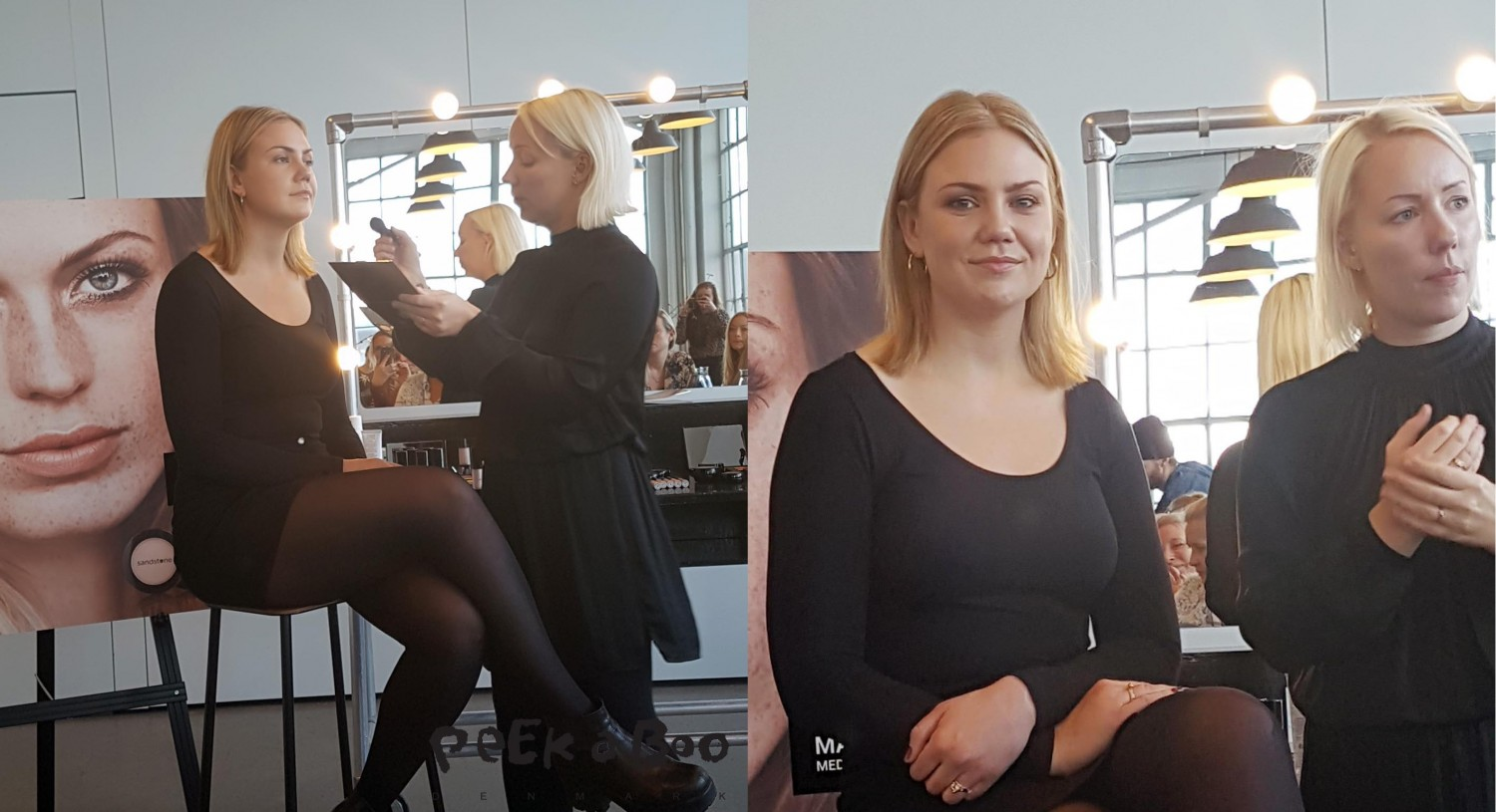 Makeup artist Liv Worm Jensen is showing how to do the natural look with Sandstone products.