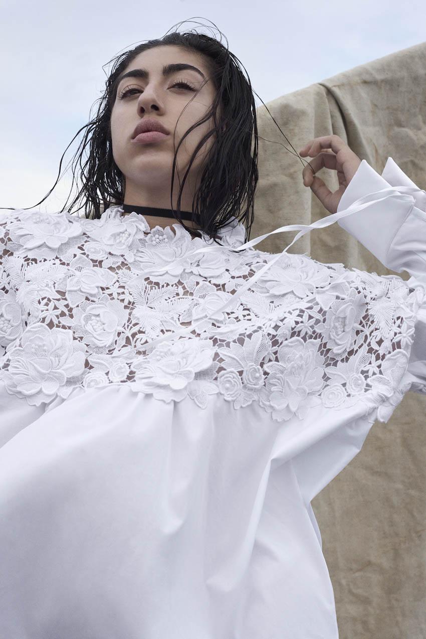 Cecilie Bahnsen vinder af Dansk design Talent prisen 2016, hvor hun har lavet en mini kollektion med Reem som den artist, hun skulle lade sig inspirere af.
