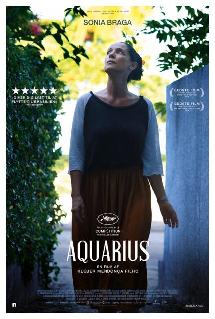 Aquarius er biografaktuel fra i dag 12 april 2017 over hele landet.