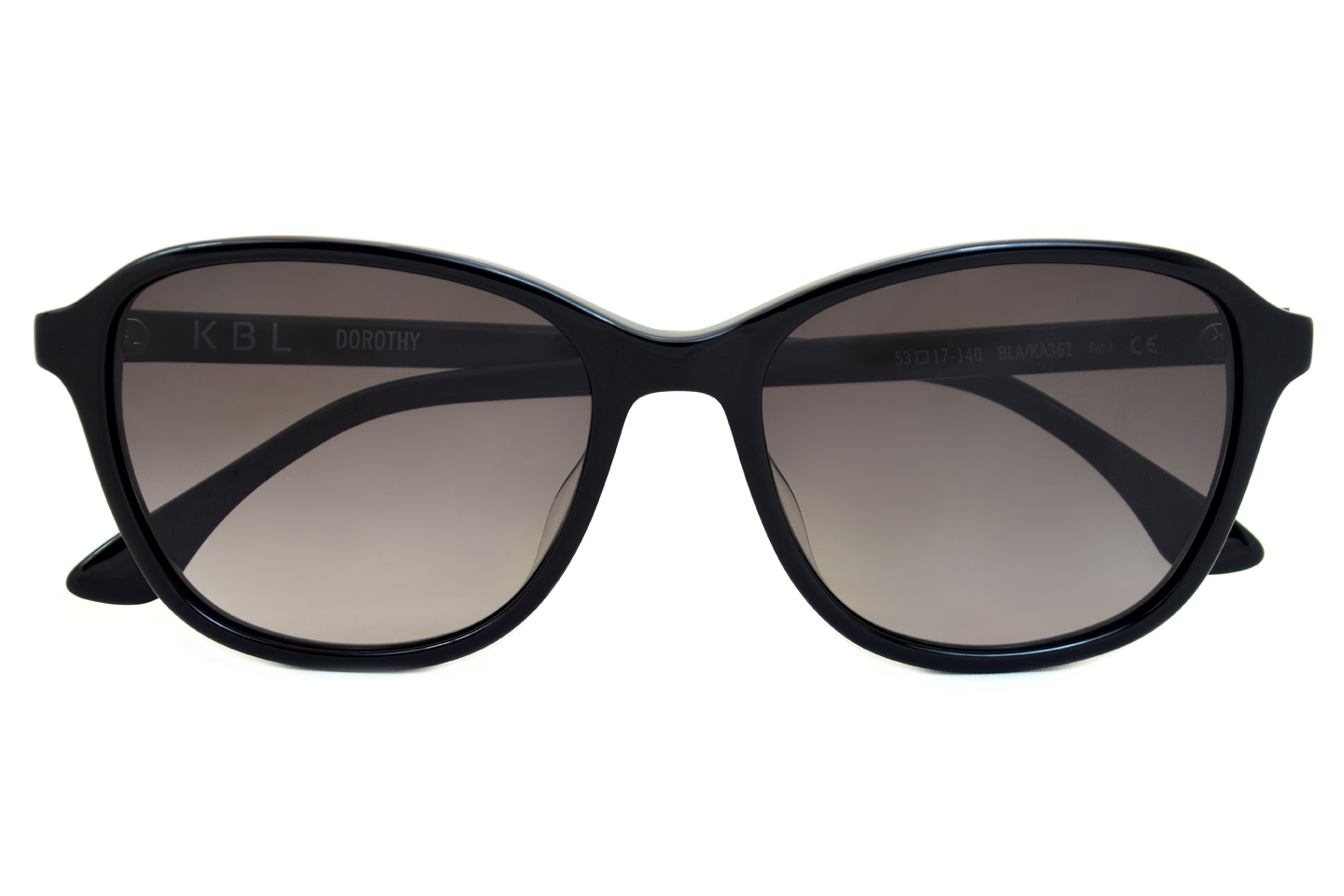 Black classic sunglasses from KBL eyewear model Dorothy 1.395 d.kr.