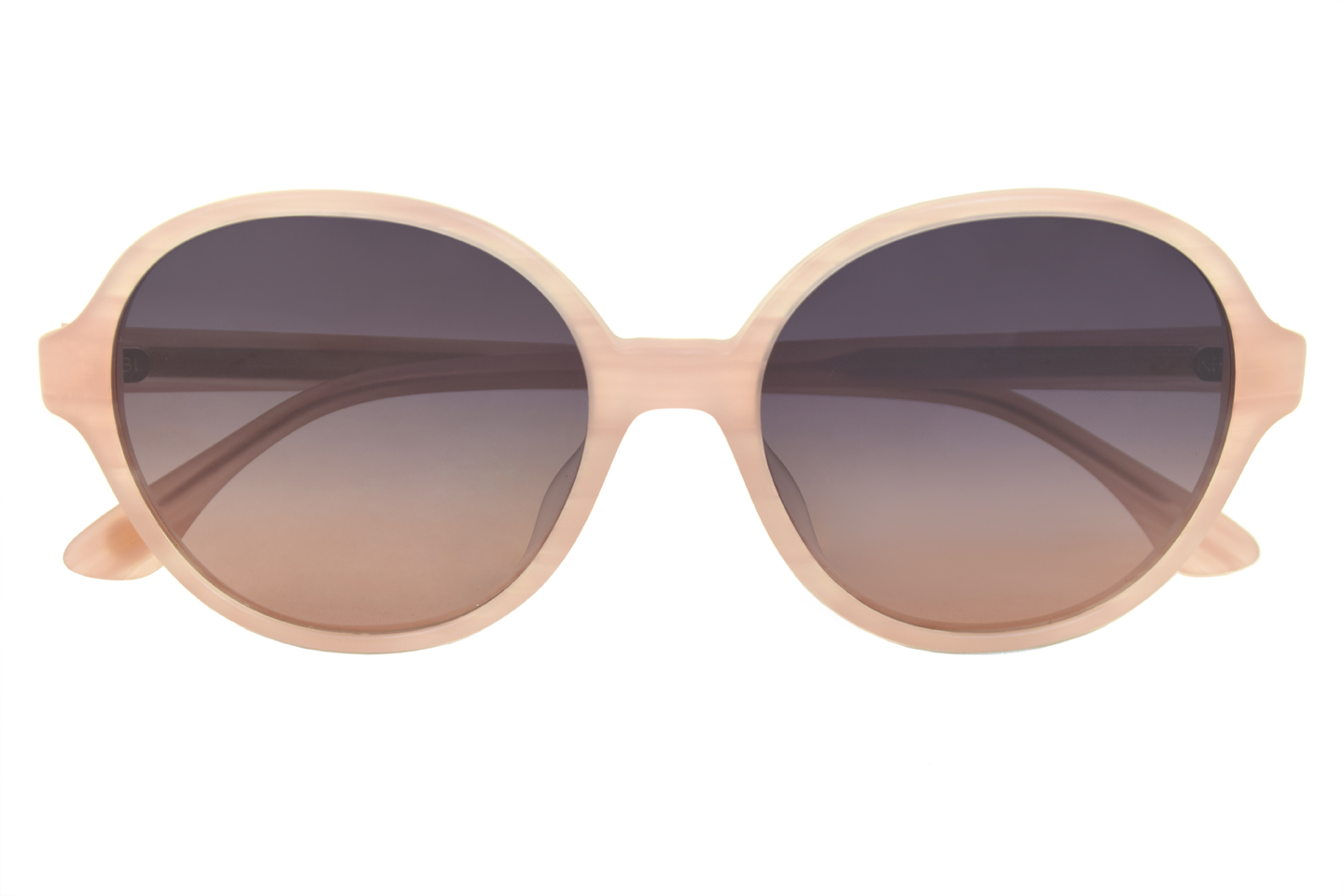 Round light pink sunglasses from KBL eyewear model Endless Summer 1.395 d.kr.
